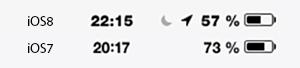 typsnitt iOS8
